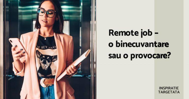 cariera job remote